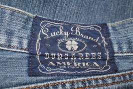Lucky Brand Dungarees Mens Jeans 36 x Short Bootcut - $19.26