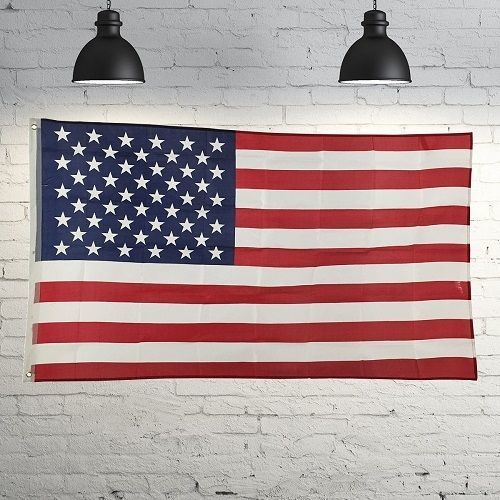3' X 5' FT. OUTDOOR U.S. POLYESTER FLAG (NEW)
