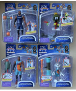 Space Jam A New Legacy Action Figures Lebron James Bugs Bunny Marvin the... - $84.99