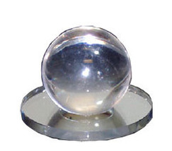 Clear Acrylic Small Ball Stick-On Mirror Knob - $17.60