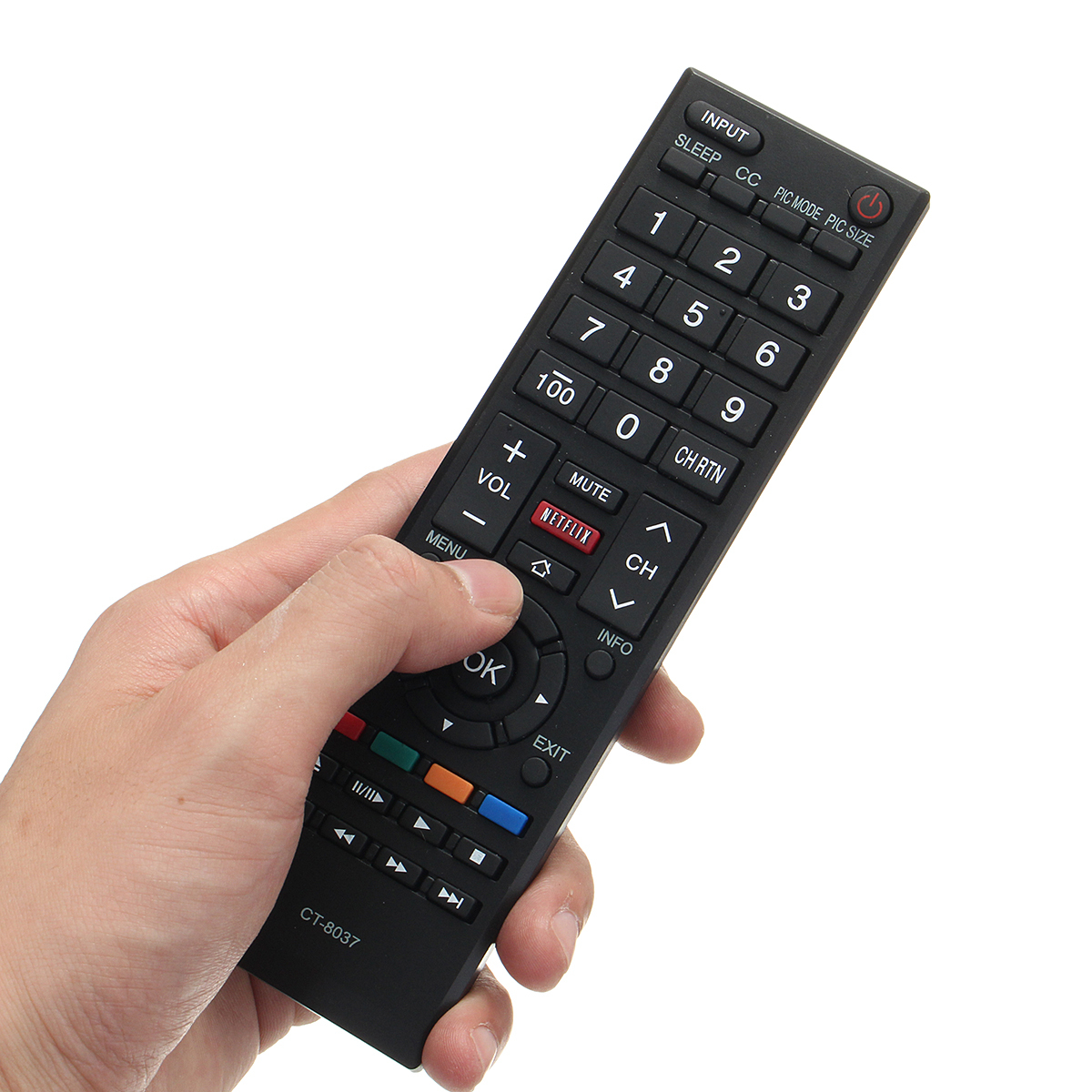 Replacement LCD TV Remote Control for and 50 similar items
