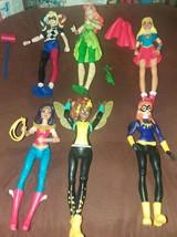 Mattel DC Comics Super Hero Girls Lot Set Action Figures with accessories  - $17.00