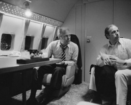 President Gerald Ford and Dick Cheney aboard Air Force One 1976 - New 8x... - $8.81