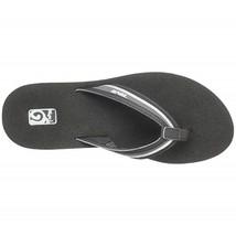 Women's Teva Mush Flip Flops Charcoal Grey Sz 7 - $24.00