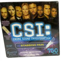 "CSI: Crime Scene Investigation ""Unbalanced Death"" 750-Piece Puzzle Mystery - $14.84"