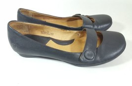 Born flats 6.5 Mary Janes black leather X - $28.05