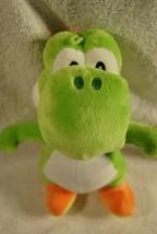 "Nintendo Super Mario Bros Yoshi Plush Toy Stuffed Licensed - Green 8""  - $19.99"