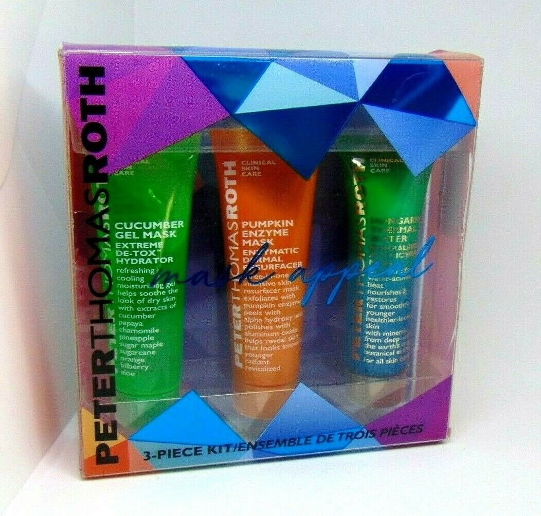 Primary image for PETER THOMAS ROTH MASK APPEAL  Face Beauty Mask Set NIB