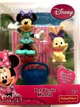 Fisher-Price Disney's Minnie Mouse Pet Picnic Minnie Toy - $11.87