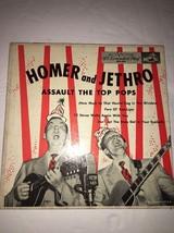 HOMER & JETHRO-ASSAULT THE TOP POPS-45rpm VINYL RCA -EPA 499-RARE VINTAGE - $745.81
