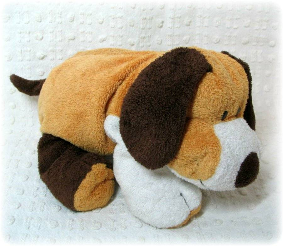 TY TyLux Pluffies Plush Dog Puppy Whiffer Lovey