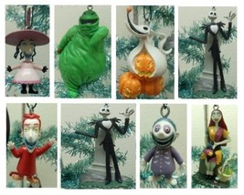 Nightmare Before Christmas 7 Piece Holiday Christmas Tree Ornament Set F... - $64.06