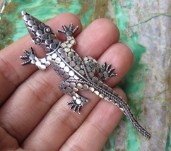 2.95 Inch //Bali Silver //Armadillo Design//Crocodille//Brooch//Pin BC-1... - $22.95