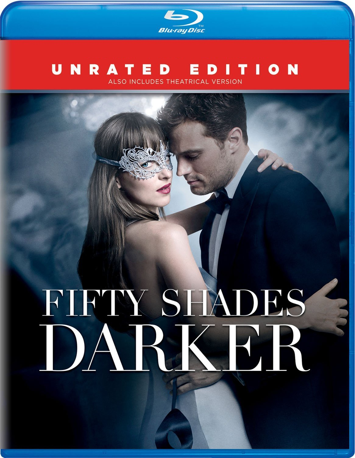 Fifty Shades Darker - Unrated Edition (2017, Blu-ray + DVD)