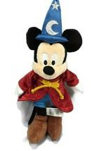 Disney Mickey Mouse 14 Inch Disney Parks Plush Doll Sorcerer Wizard Fant... - $13.41