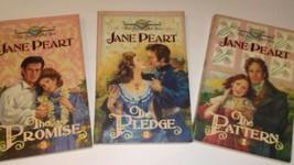 Ex-Library The American Trapunta Serie di Jane Peart Libro in Brossura #1-3 - $68.57