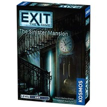 Thames & Kosmos Exit: The Sinister Mansion Multiplayer Game - $14.26