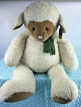 "Gund Heads & Tales Lamb Sheep JUMBO Plush Stuffed Animal 36"" NEW - $57.90"