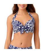Liz Claiborne Floral Bra Swimsuit Top Size S, M, L Msrp $48.00 New - $21.99