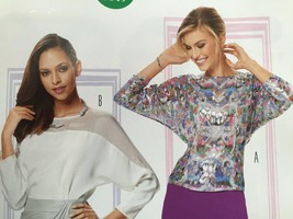 Burda Sewing Pattern 6649 Misses Ladies Blouse Size 8-18 New - $13.43