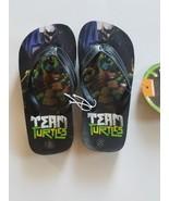 Teenage Mutant Ninja Turtles Boy's Flip Flop 11-12  13-1 2-3NWT - $11.99