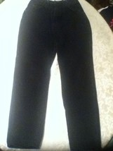 Mens- Wrangler Authentic Jeans-Size 31x30 black denim jeans - $18.25