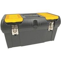 """STANLEY 019151M 19"""" Tool Box with Removable Tray - $52.82"""