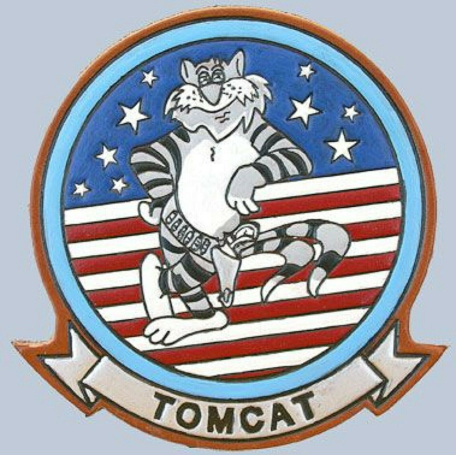 Primary image for US Navy Tomcat  F-14 Military Patch Sticker