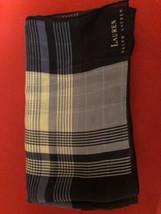 Vintage Lauren Ralph handkerchief square silk - $19.55