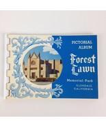 "VTG 4"" Pictorial Album 10 Photo Forest Lawn Memorial Park Glendale CA Ca... - $10.30"