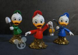 Extremely Rare! Walt Disney Ducktales The Nephews Figurine Bust Statue Set - $366.30