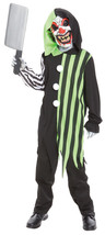 Cleaver The Clown Child Large  Costume - $26.22