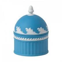 Jasperware Pale Blue Acorn Box 2013 WEDGWOOD MADE IN UK NEW - $329.13 CAD