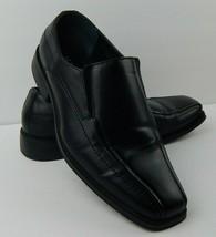 Alfani Men's Size 8.5 W Ascher Slip On Loafer Dress Shoe Black - $27.98