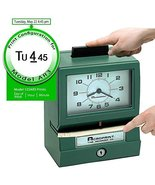 Acroprint 125AR3 Heavy Duty Manual Time Recorder for Day of the Week, Ho... - $349.48