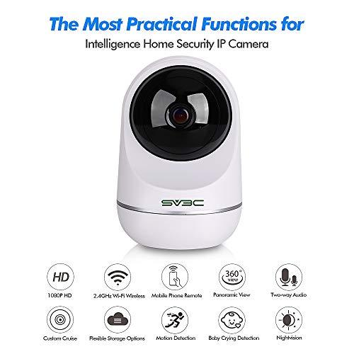 Sv3c 1080p Wifi Ip Camera Hd Wireless Indoor Ptz Dome
