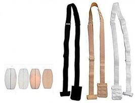 3 Pieces, 3 Color Women Bra Accessories Low Back Cross Extension Bra Str... - $32.91