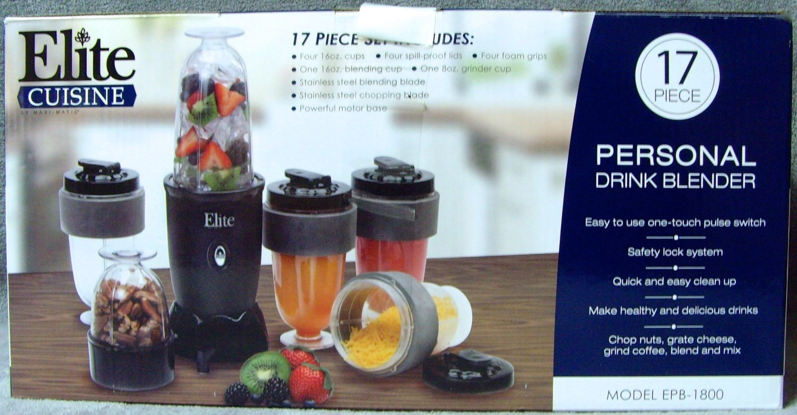 New•Maxi-Matic•Elite Cuisine•17 pc •Personal and 50 similar