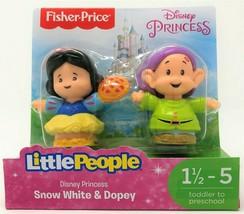 Little People Disney Schneewittchen und Dopey Figur Spielzeug - $14.61