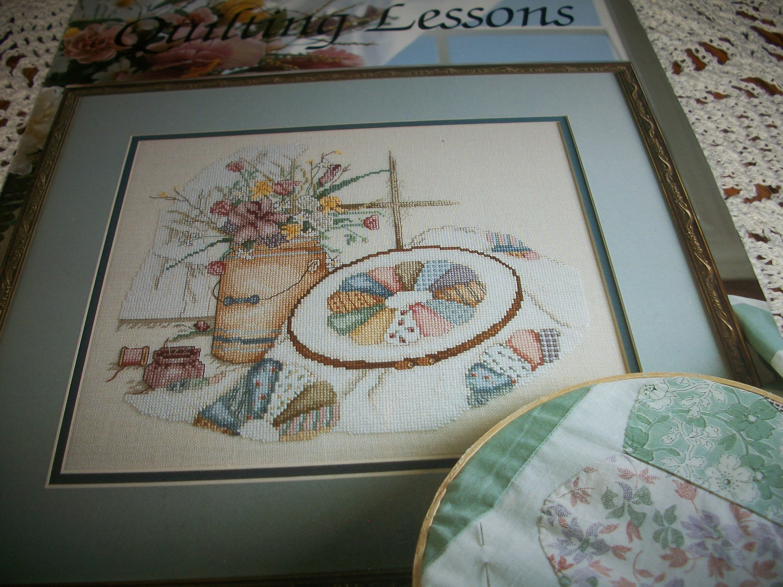 Primary image for Quilting Lessons Cross Stitch Leaflet 605