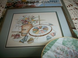 Quilting Lessons Cross Stitch Leaflet 605 - $8.00