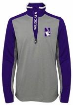 Boy's XL (18) Northwestern Wildcats Shirt Matrix Lightweight 1/4 Zip Pullover