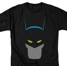 DC Comics Batman Icon Retro Superhero Black Graphic T-shirt  BM2189 image 3