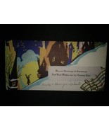 Art Deco New Year Cards Silhouettes Moonlight - €5,40 EUR