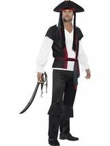 Aye Aye Traje de Capitán Pirata,Grande,Adulto Disfraz,Hombre - $33.91