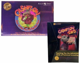 Cashflow 101 & 202 Financial Board Game Rich Dad Poor Dad New Investing ... - $139.99