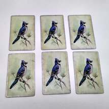 6 Blue Jay Playing Cards for Crafting, Re-purpose, Up-cycle, Vintage Supplies image 5