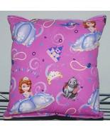 Sofia The First Pillow HANDMADE Disney Sofia Pillow Royal Princess New M... - $9.99