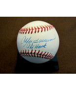 ANDRE DAWSON THE HAWK EXPOS CUBS HOF SIGNED AUTO OML BASEBALL ALL AMERICAN - $118.79