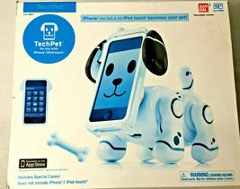 Bandai Tech Pet iPhone Model #88647 (3GS, 4, 4S) White Age 12+ Vintage 2012-2013 - $29.03